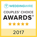Eviva Weddings WeddingWire Couples Choice Award Winner 2017